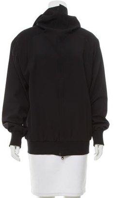 Yohji Yamamoto Wool Lightweight Jacket $175 thestylecure.com