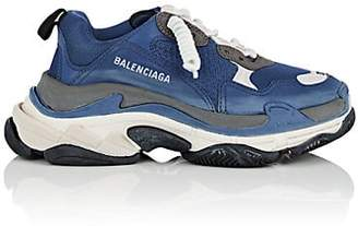 Balenciaga Men's Triple S Sneakers - Blue