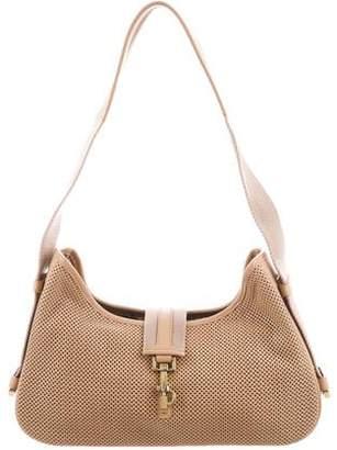 Gucci Perforated Shoulder Bag
