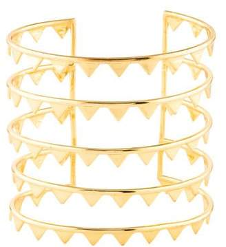 Arme De L'Amour Five Row Spiked Cuff