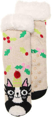 Mix No. 6 Cat Slipper Socks - Women's