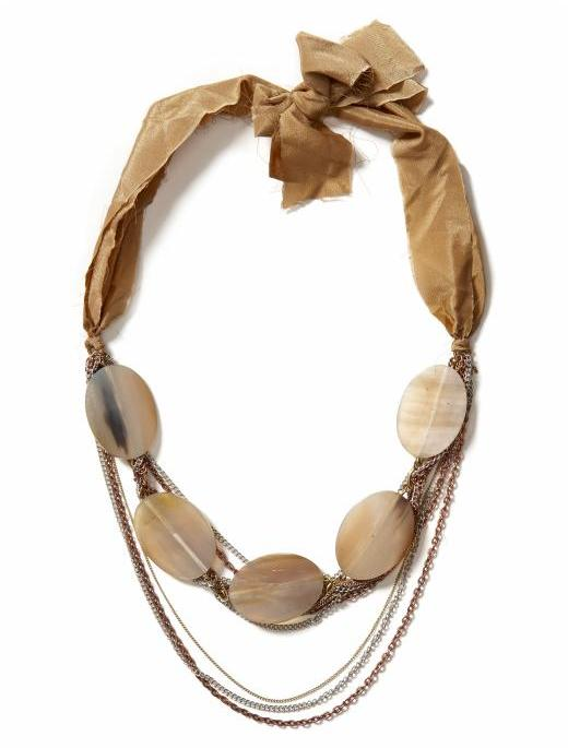 Hive And Honey Hive & Honey Neutral Tribal Necklace