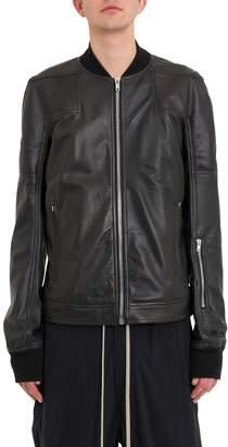 Rick Owens Rottersis Leather Bomber Jacket