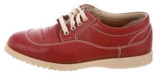 Hogan Leather Low-Top Sneakers