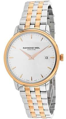 Raymond Weil Men's 'Toccata' Swiss Quartz Stainless Steel Dress Watch