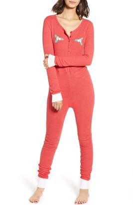 Wildfox Holiday Fox Jumpsuit