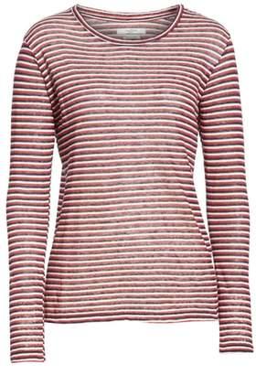 Etoile Isabel Marant Kaaron Stripe Linen & Cotton Tee