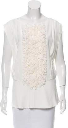 Viktor & Rolf Ruffle-Accented Sleeveless Top w/ Tags