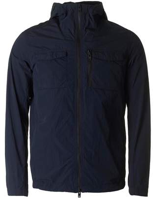 J. Lindeberg Jonah Hooded Crinkle Nylon Jacket