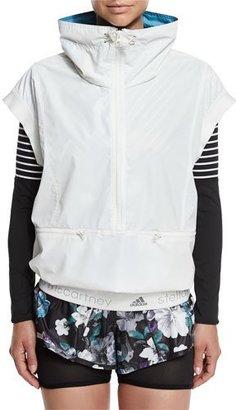 adidas by Stella McCartney Run Reflective Gilet Vest, White $225 thestylecure.com