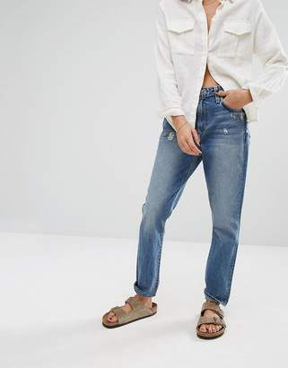 Lovers + Friends High Rise Slim Mom Jeans