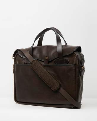 Filson Weatherproof Leather Briefcase
