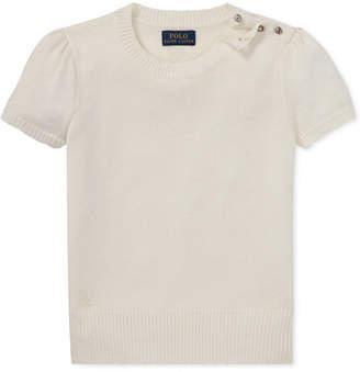 Polo Ralph Lauren Big Girls Short-Sleeve Sweater