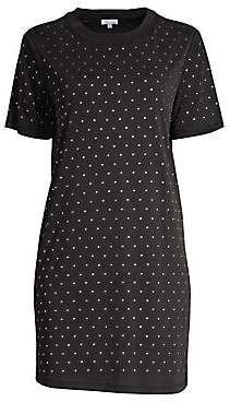Splendid Women's Eclipse Studded T-Shirt Dress