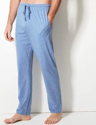 Marks and Spencer 2 Pack Jersey Long Pyjama Bottoms