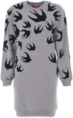 McQ Swallow Sweatshirt Dress