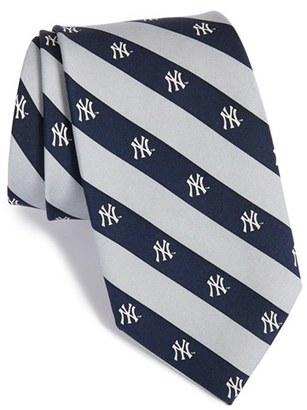 Men's Vineyard Vines 'New York Yankees - Mlb' Print Silk Tie $85 thestylecure.com
