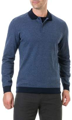 Rodd & Gunn Holland Crescent Long Sleeve Regular Fit Polo Shirt