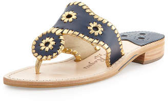 Jack Rogers Nantucket Whipstitch Thong Sandal