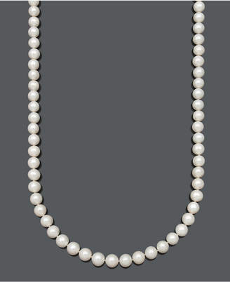 "Belle de Mer Aa 36"" Cultured Freshwater Pearl Strand Necklace (9-1/2-10-1/2mm) in 14k Gold"