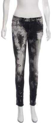 Cult of Individuality Mid-Rise Skinny Jeans