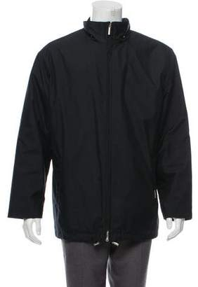Burberry House Check-Lined Zip Jacket