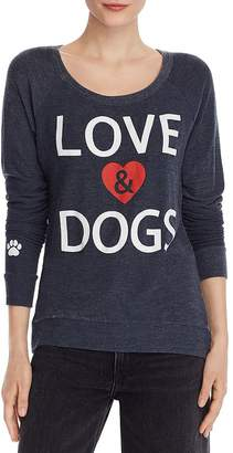 Chaser Love & Dogs Cozy Sweatshirt