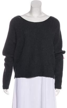 Tahari Wool-Blend Rib Knit Sweater