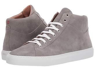 Eleventy Mid Top Suede Sneaker