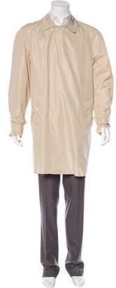 Burberry Spread Collar Windbreaker Jacket