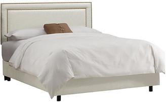 One Kings Lane Bardot Bed - Talc