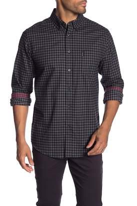 Ben Sherman Geometric Long Sleeve Shirt