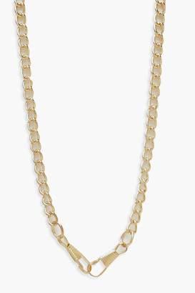 boohoo Linked Chunky Chain Necklace