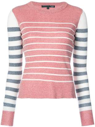 Veronica Beard striped knitted jumper