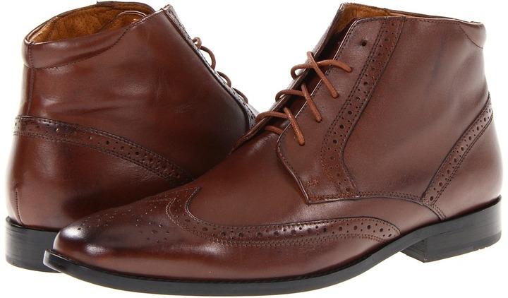 Rockport Oak Room Wingtip Boot (Cognac) - Footwear