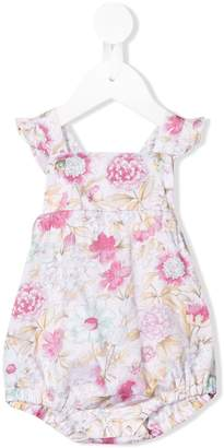Aletta floral print dungarees
