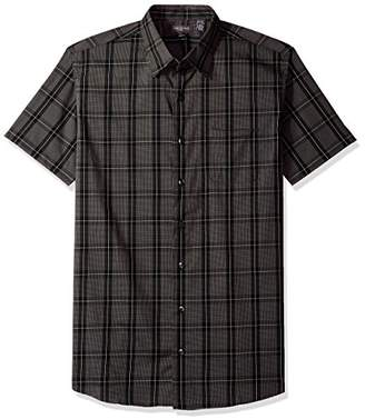 Van Heusen Men's Flex Stretch Short Sleeve Non Iron Shirt