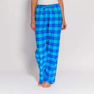 977ba4e8cf at Notonthehighstreet.com · BRITISH BOXERS Women's Pyjama Trousers In Aqua  Tartan Flannel