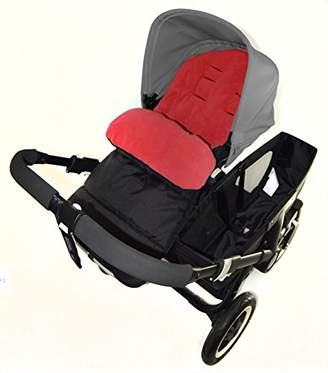 Bugaboo Footmuff/Cosy Toes Compatible with Bee Pushchair Fire Red