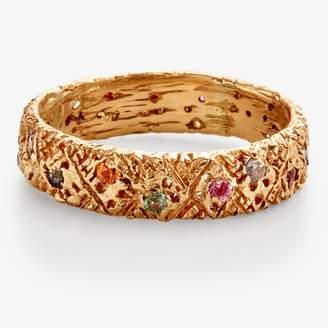 Danielle Welmond Multi-Sapphire Gold Ring