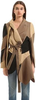 Vivienne Westwood Kaban Patchwork Wool Jacket