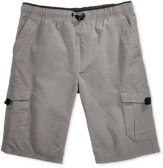 Univibe Bungee Waist Cargo Short, Big Boys (8-20) $34 thestylecure.com