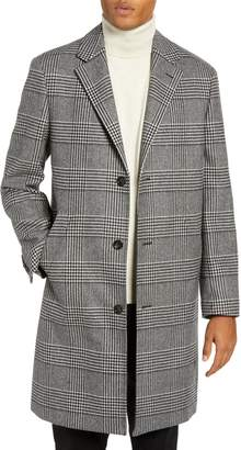 J.Crew Ludlow Glen Plaid Topcoat