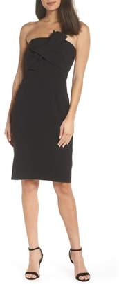 Chelsea28 Strapless Bow Front Dress