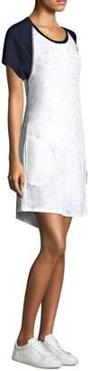 ATM Anthony Thomas Melillo Slub Jersey Baseball T-Shirt Dress
