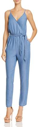 Do and Be Crossover Chambray Jumpsuit