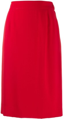 Moschino Pre-Owned 2000 pencil skirt