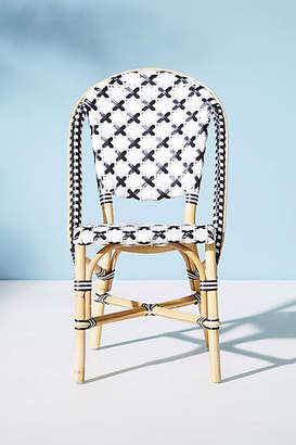 Anthropologie Woven Bistro Indoor/Outdoor Dining Chair