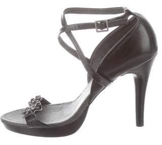 Ted Baker Embellished Ankle Strap Sandals
