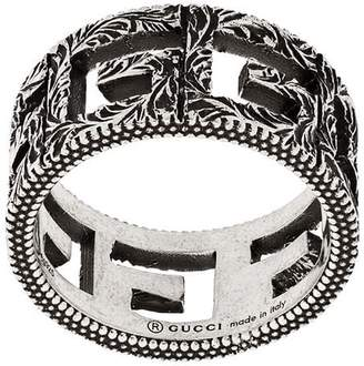 Gucci square G ring